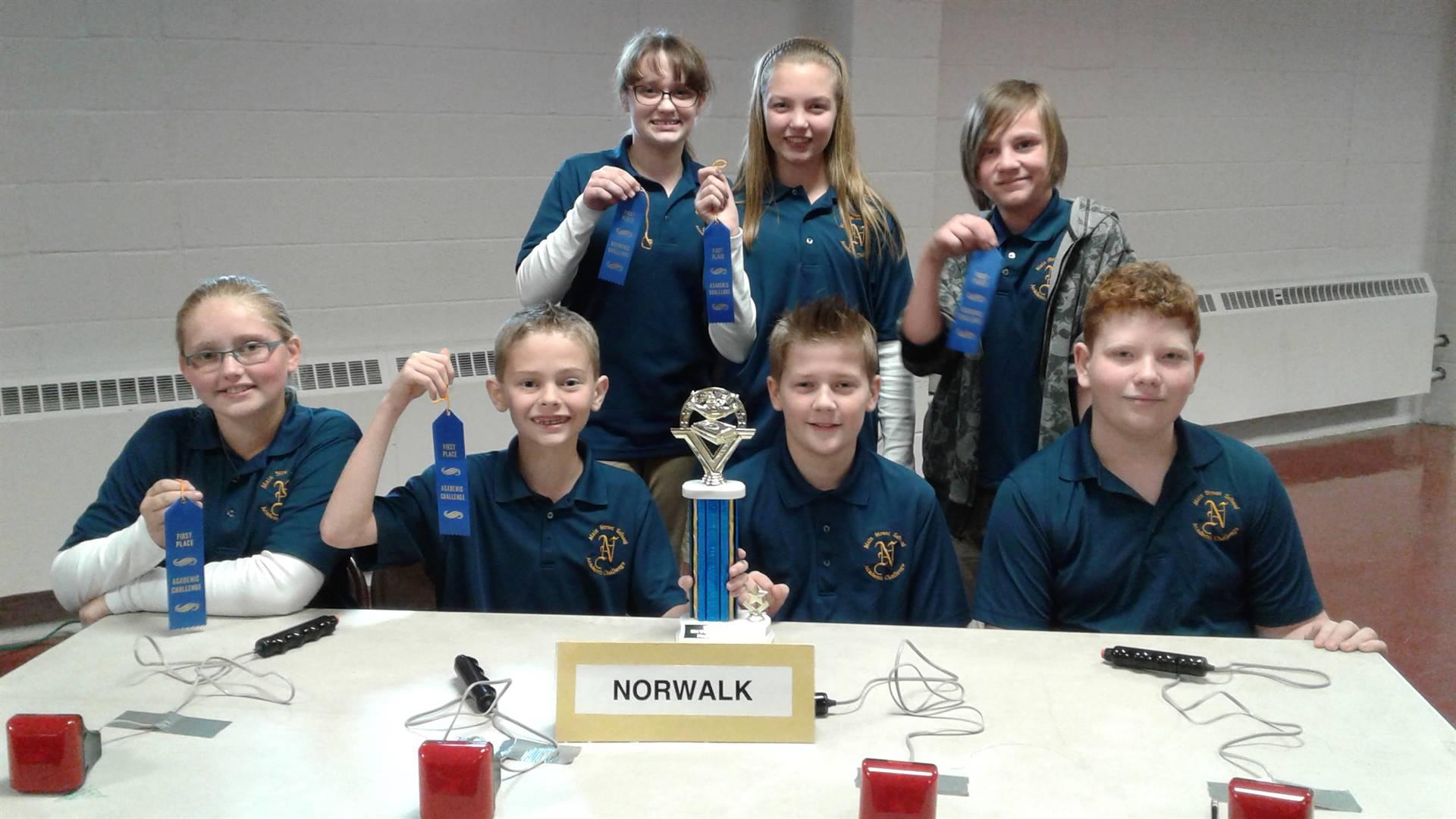 Congratulations 6th Grade Academic Challenge Team!