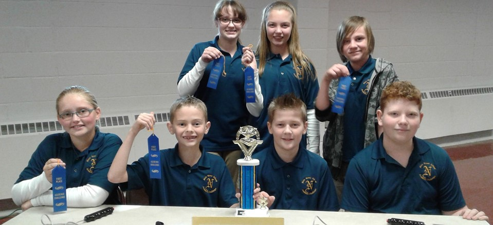 6th Academic Challenge Team - 1st Place in Huron County Match