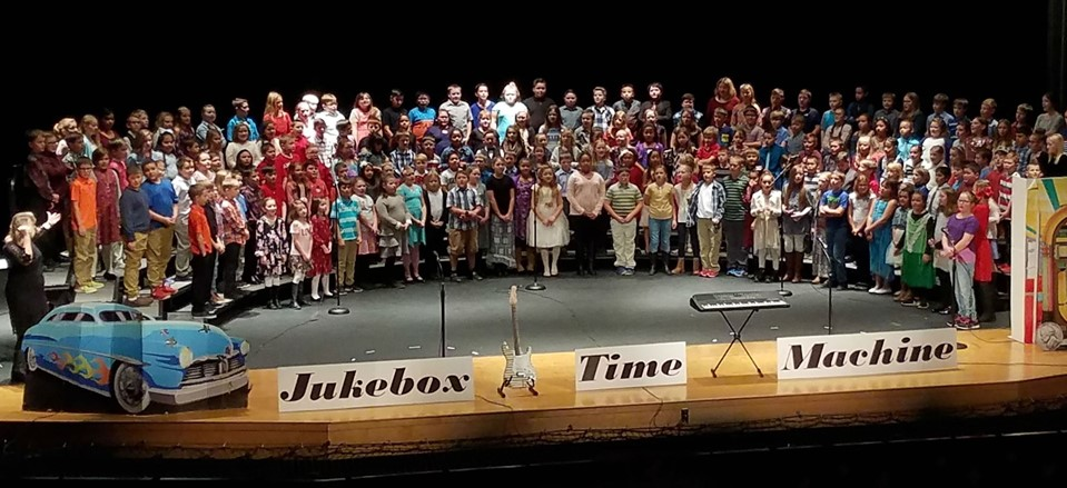 League Elementary fall concert