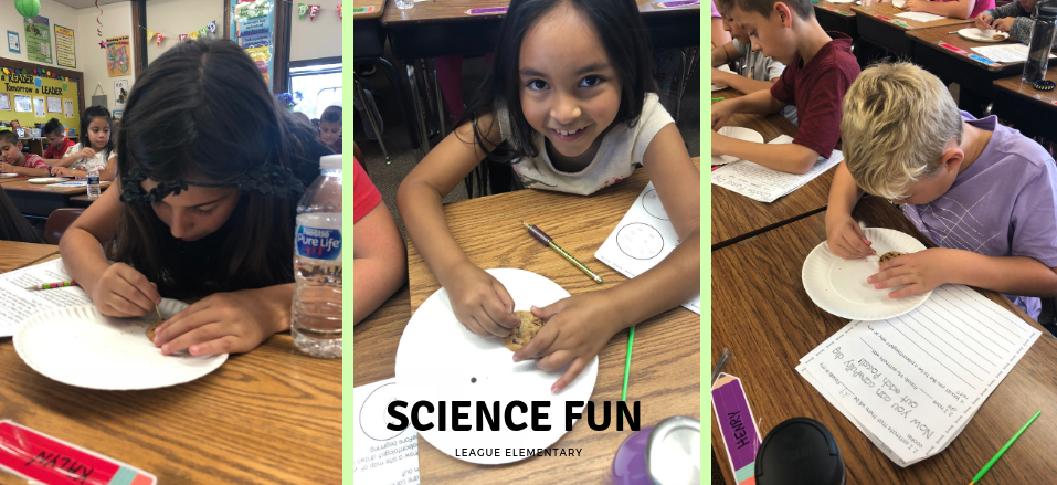 Science Fun at League Elementary
