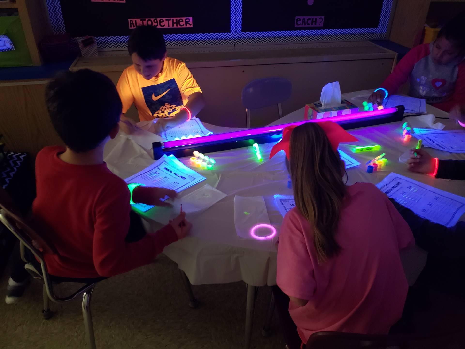 Glow Math