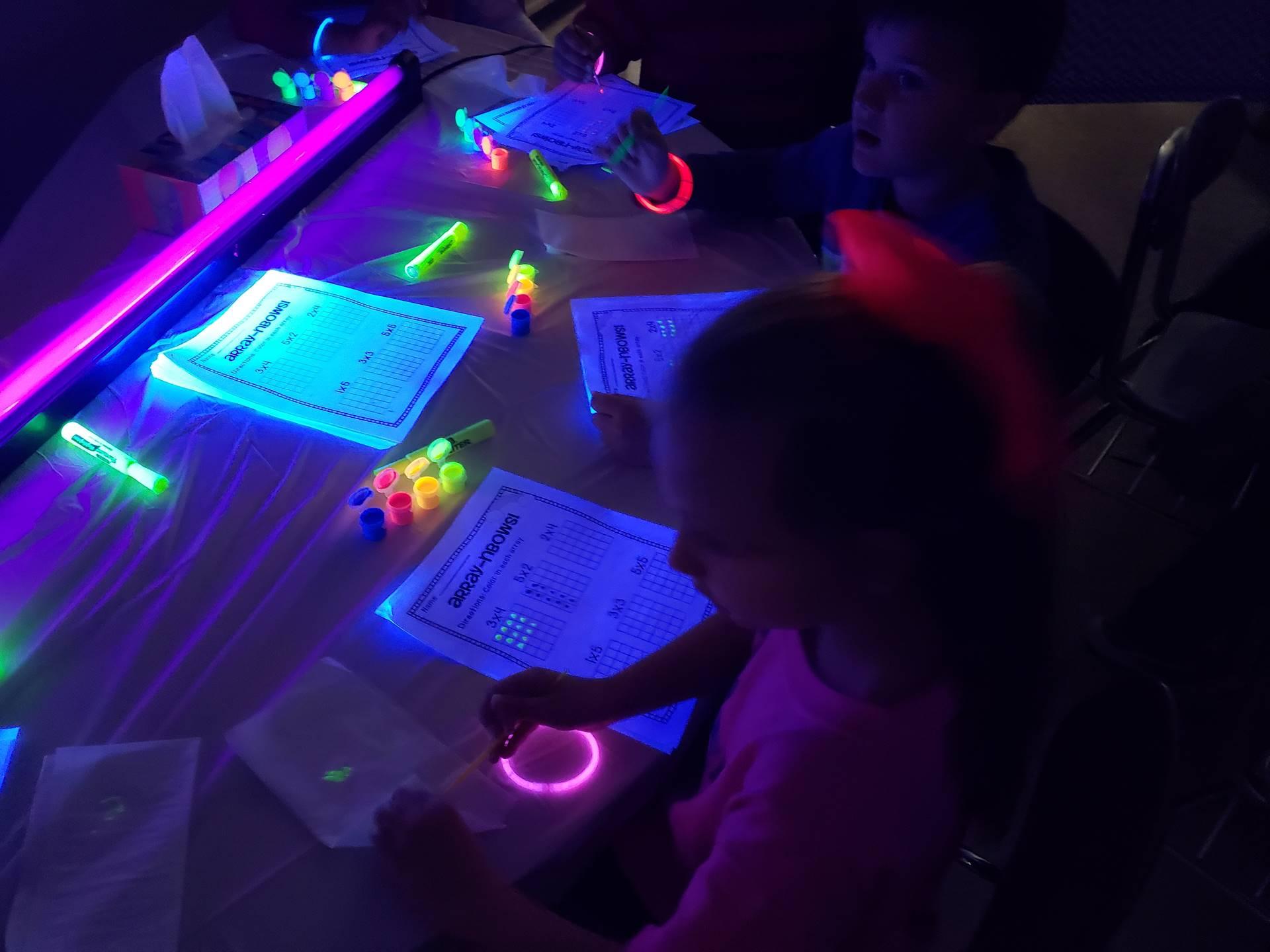 Glow Math, Mrs. Muskovich