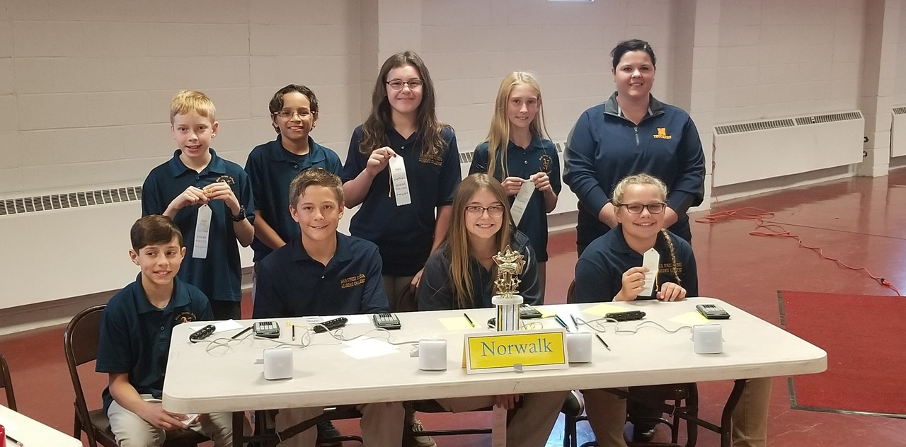 6th Grade Academic Challenge Team Takes 3rd Place for Huron County