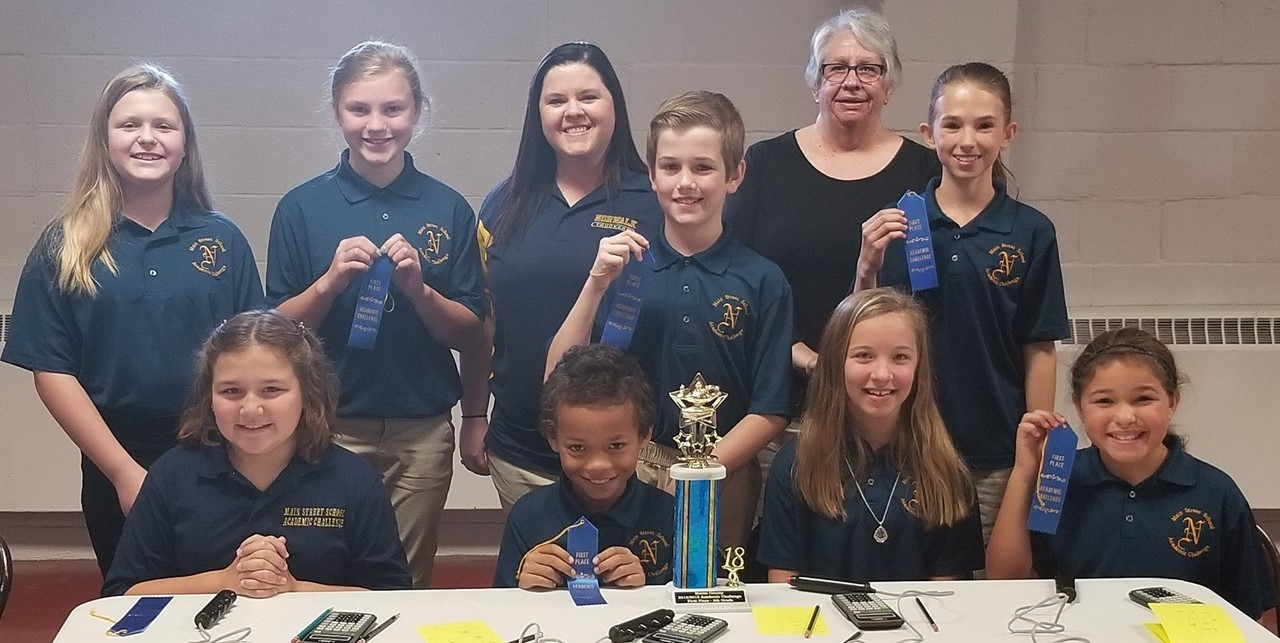 5th Grade Academic Challenge Team Takes 1st Place in Huron County