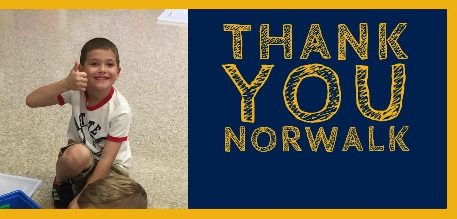 Thank you Norwalk voters