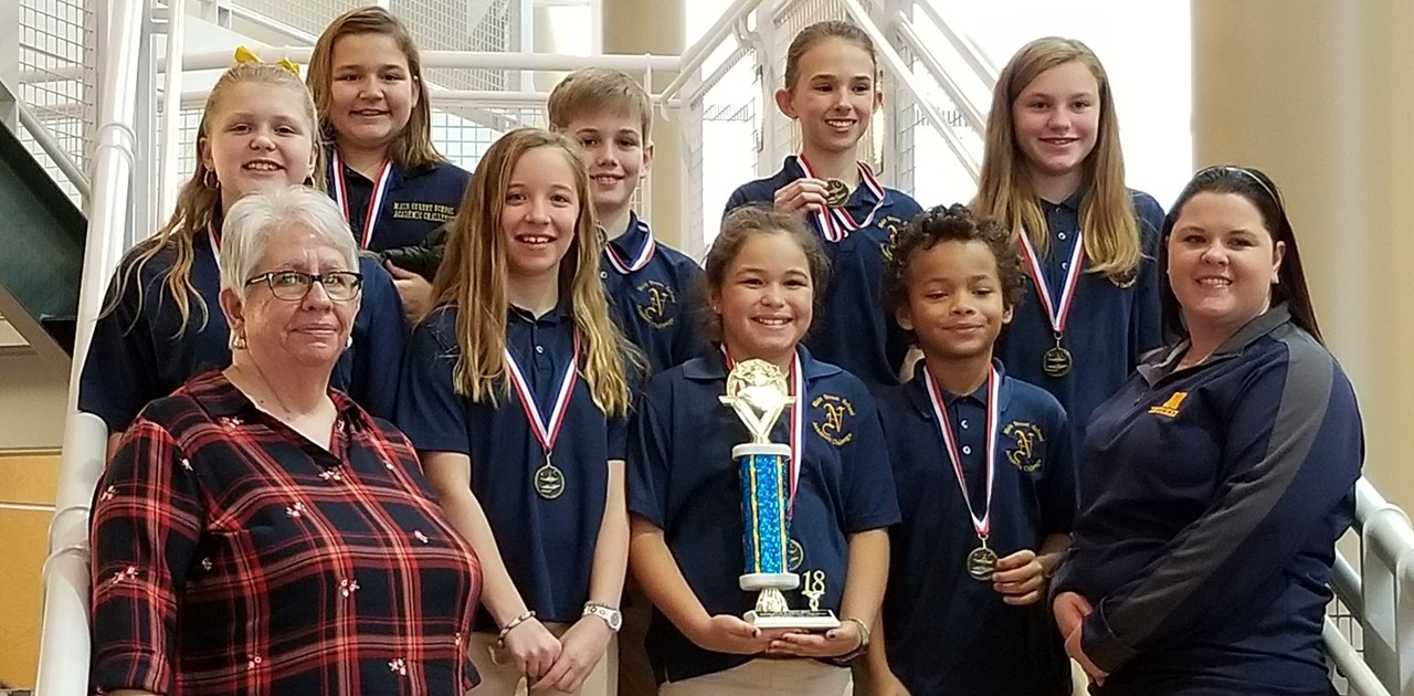 5th Grade Academic Challenge Team Takes 1st Place in Champions of Champions competition