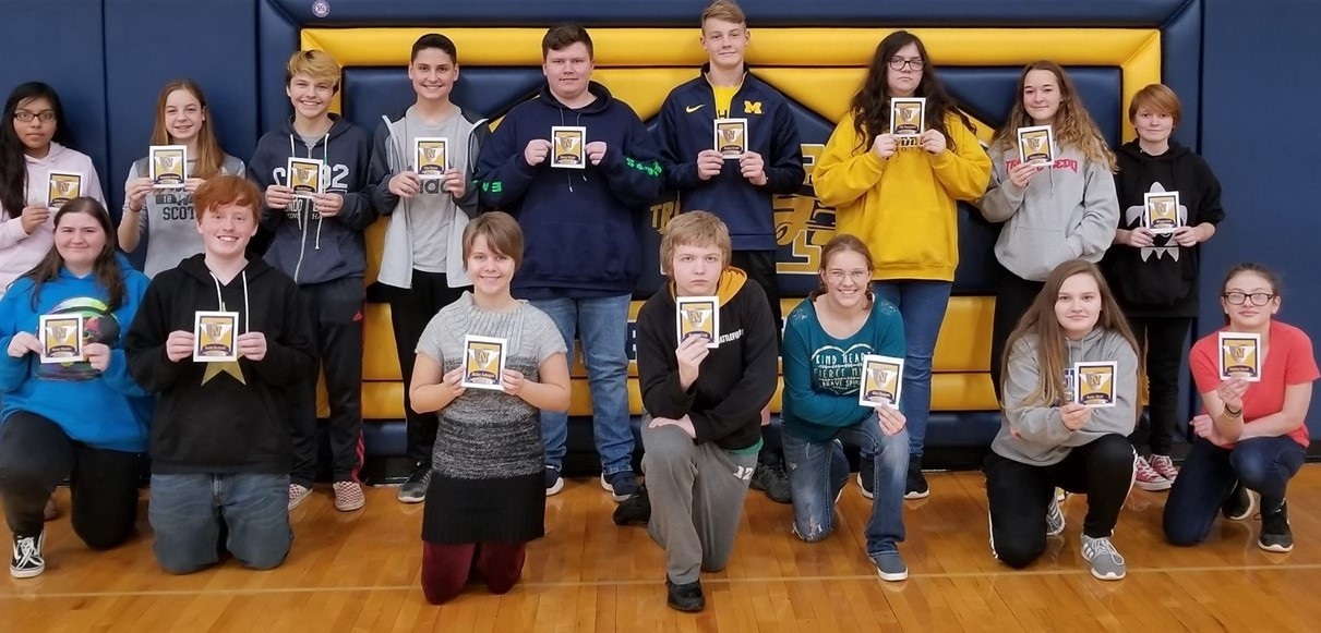 8th Grade Award Winners - November