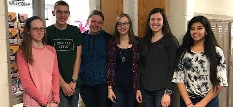 students who memorized over 100 digits this year.  Elyse Zieber- 160 Bree McGlaston- 144 Ben Perry- 143 Renee House- 106 Emma Trost- 106 Elena Barber- 102 Janie Dominguez- 100