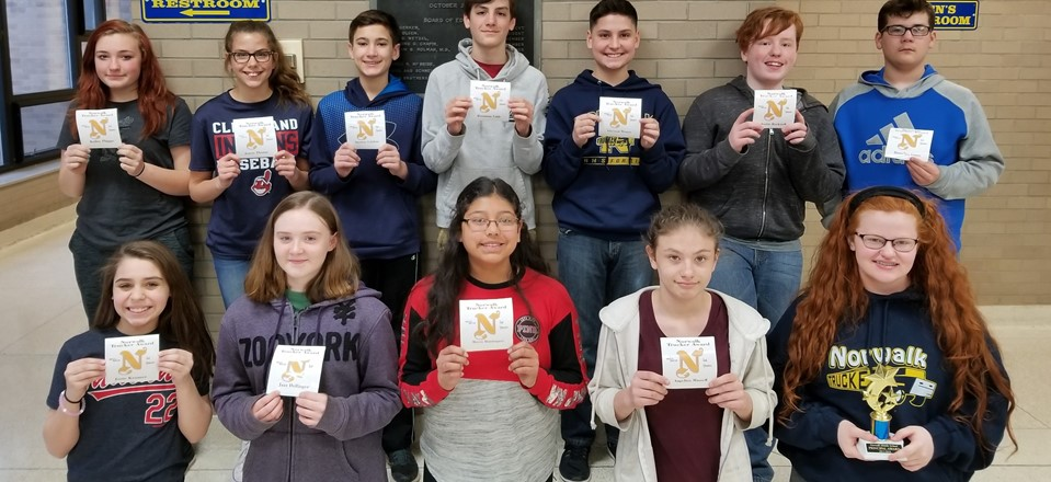 3rd Quarter Awards - 7th Graders