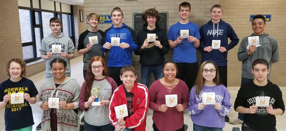 3rd Quarter Awards - 8th Graders