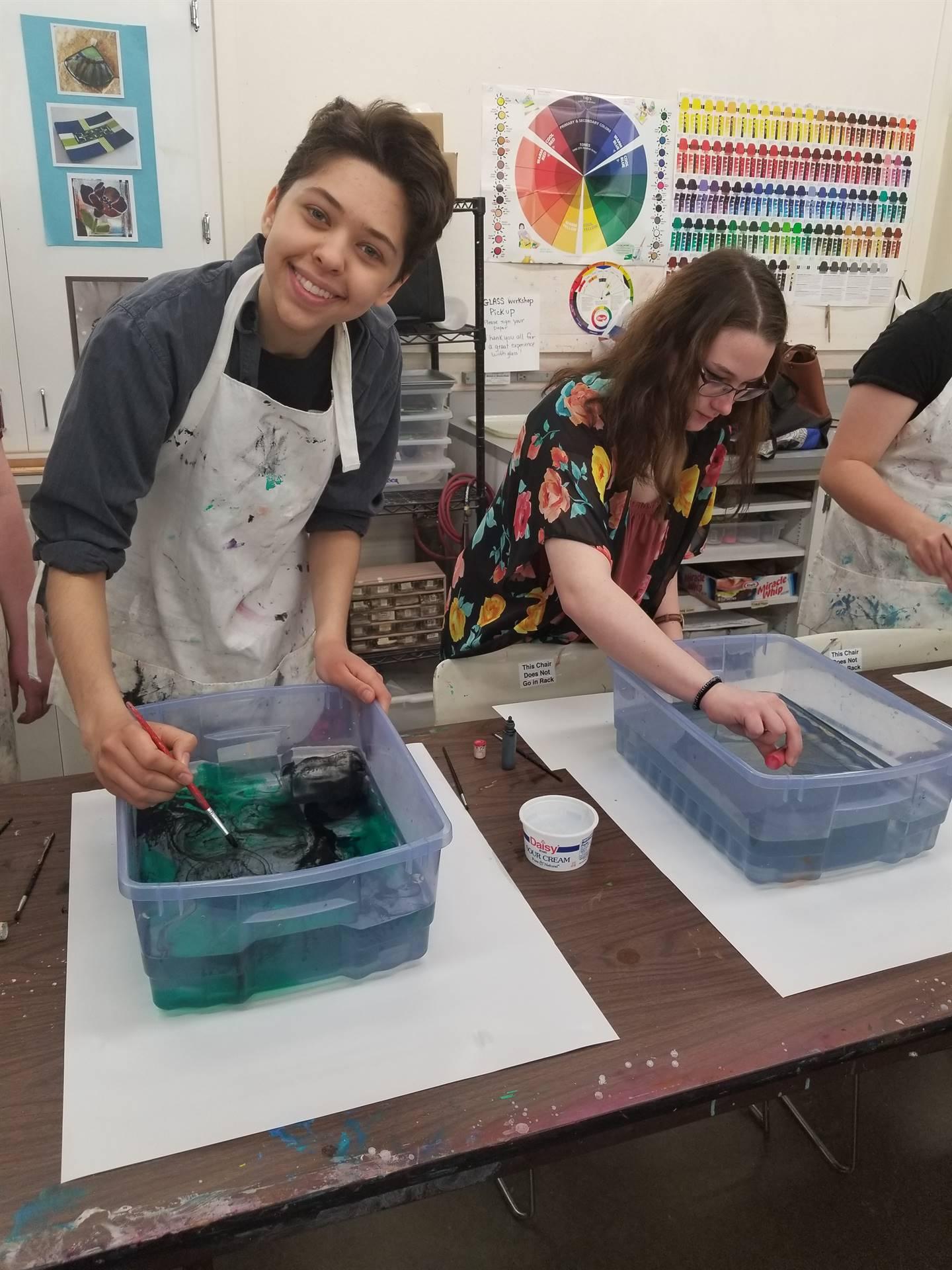 NHS Art Students Field Trip