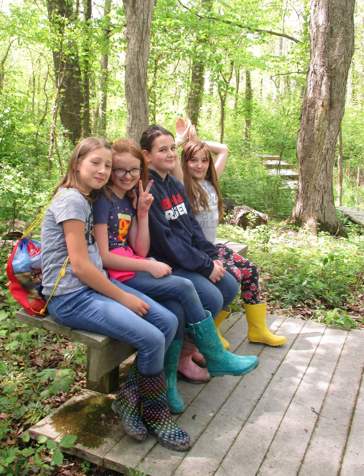 Students Visit Old Woman Creek State Nature Preserve & National Estuarine Research Reserve