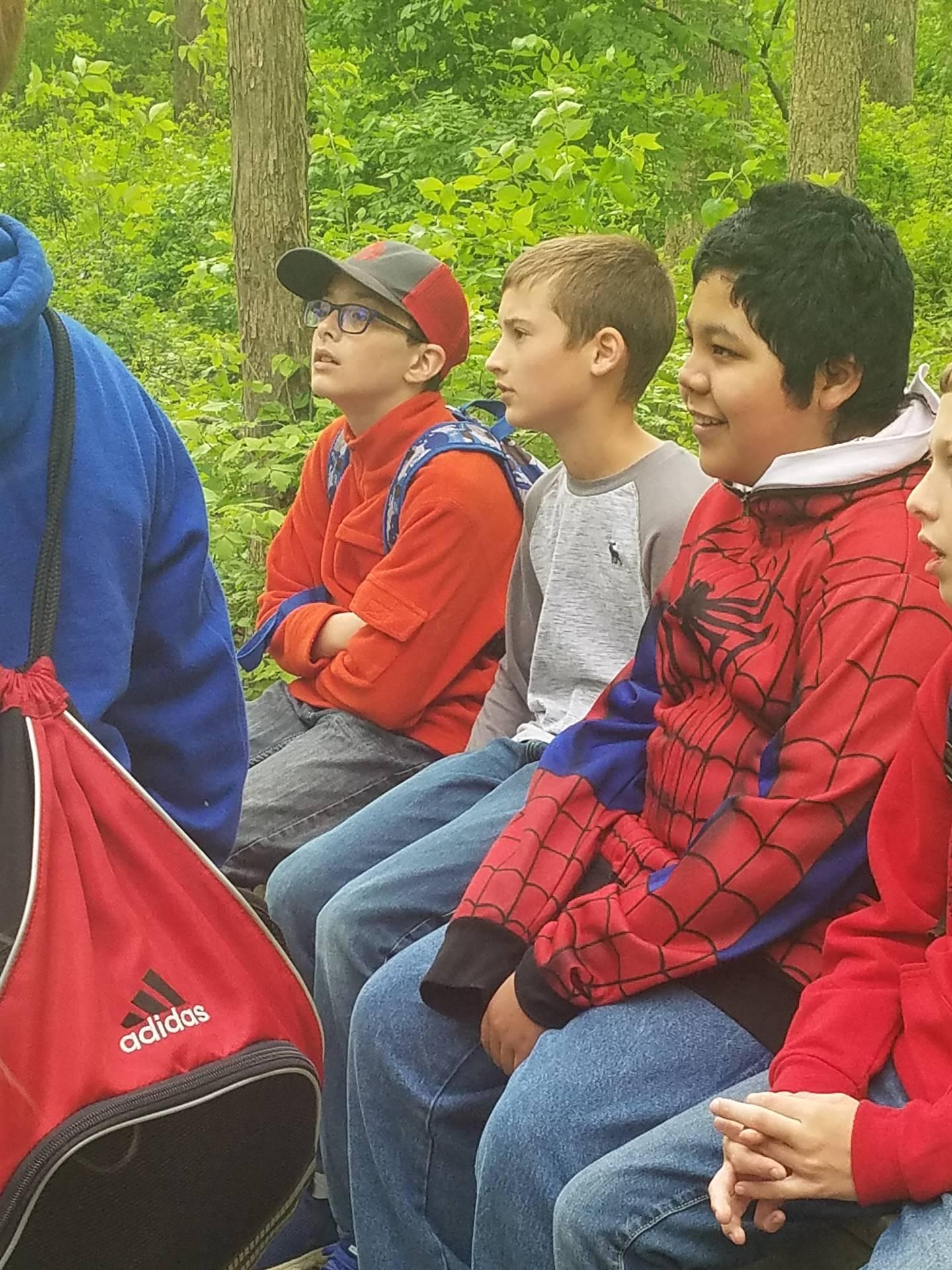 Students Visit Old Woman Creek State Nature Preserve & National Estuarine Research Reserve