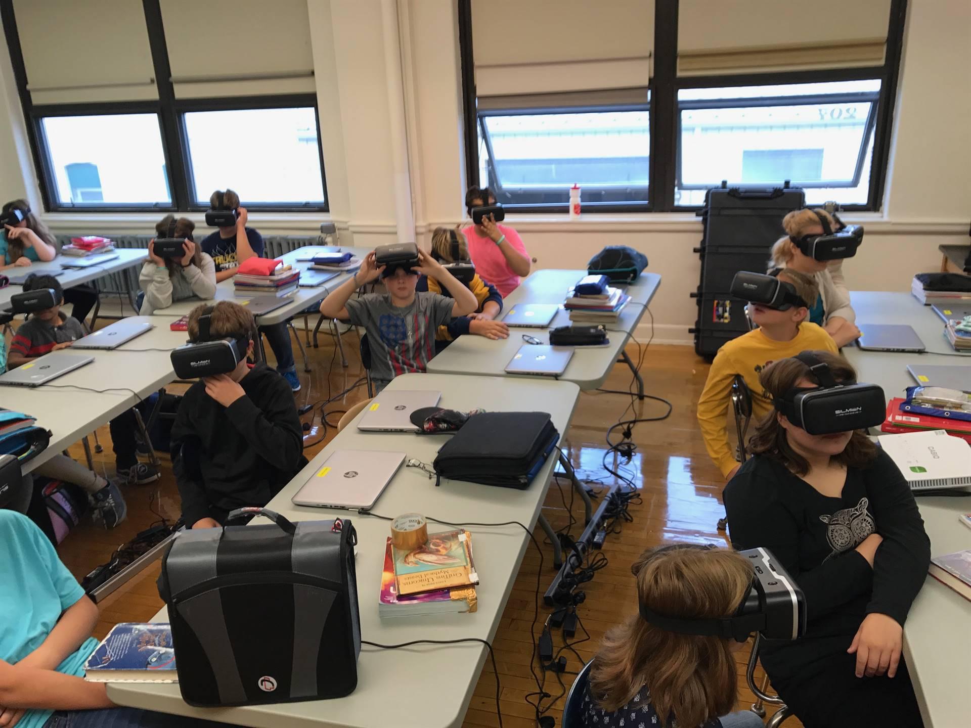 Virtual Reality field trip