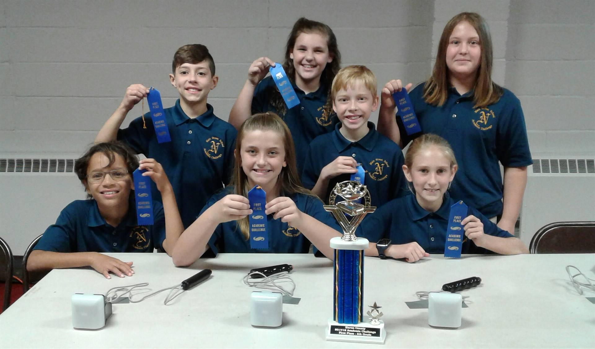 Academic Challenge Team - Grade 5