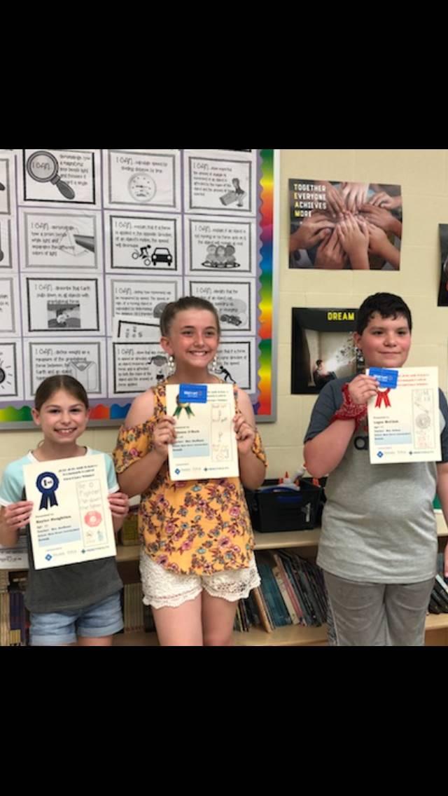 Tobacco Bookmark Winners