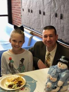Bucket Filler Luncheon hosted by Mr. Fisk (Superintendent) and Mrs. Smith (Principal)
