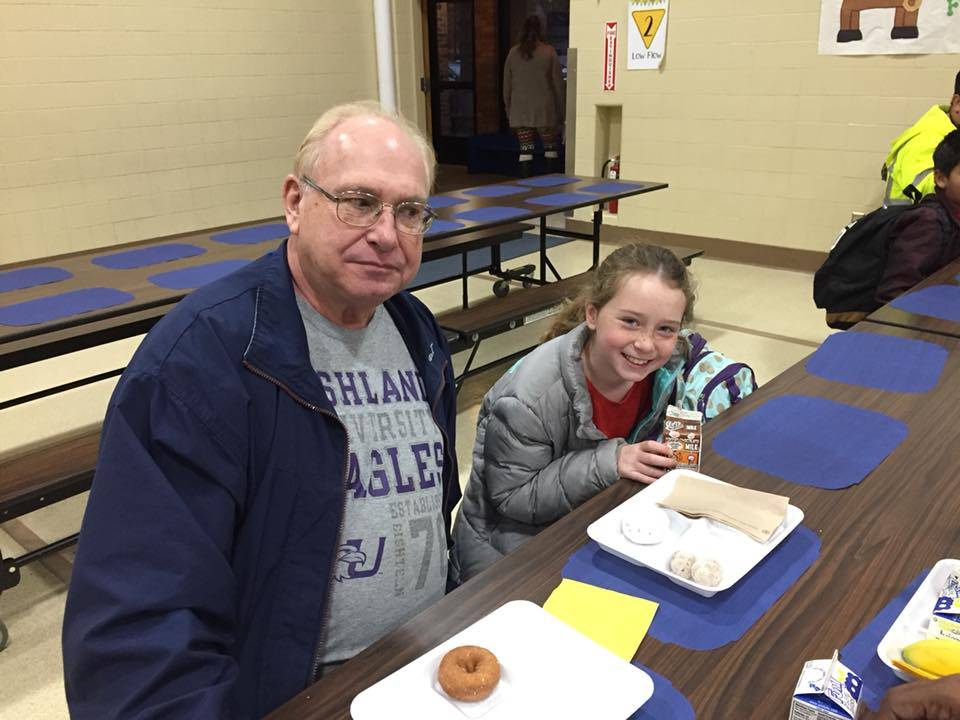 Donuts with Dads
