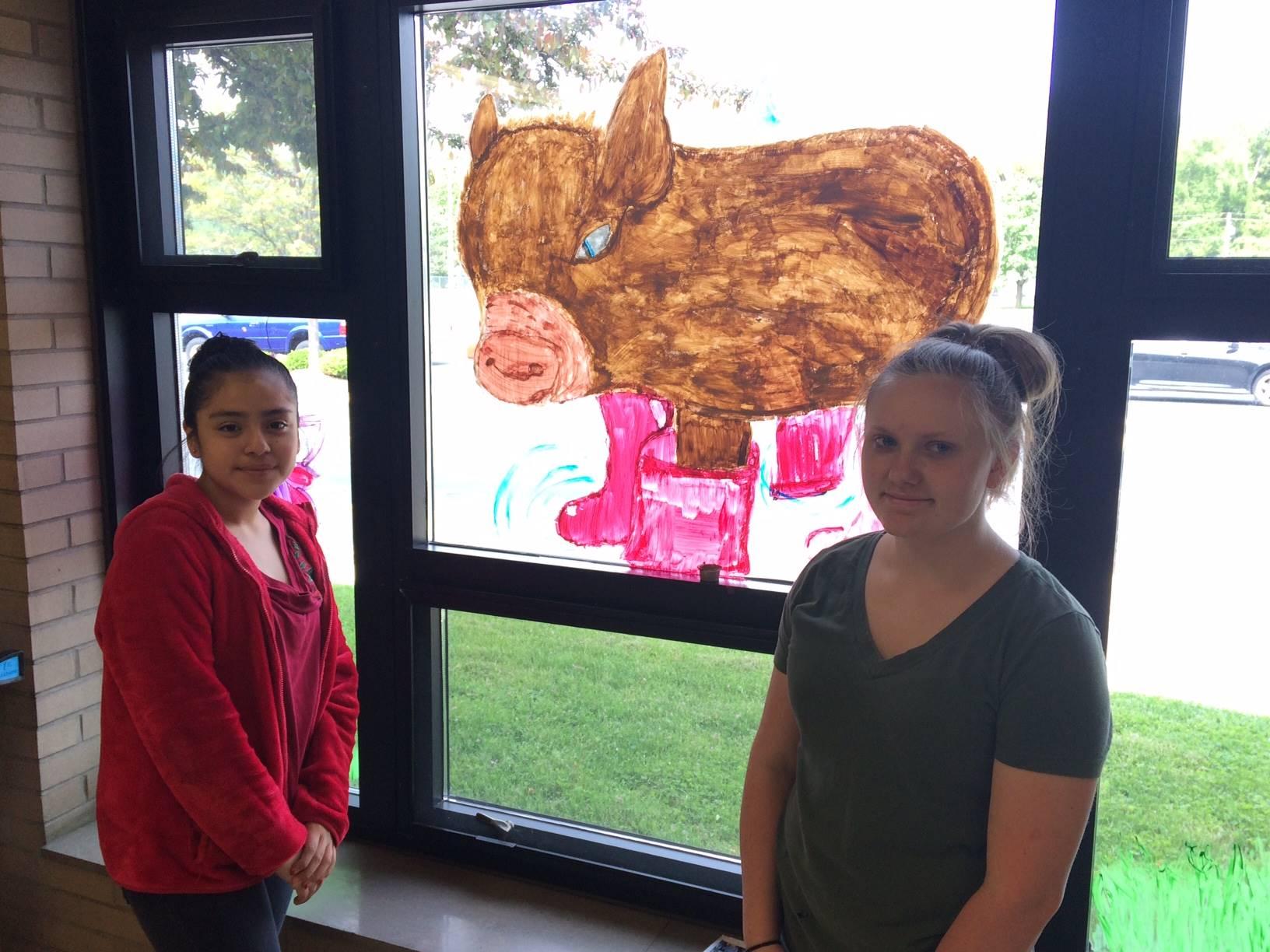 NMS Advanced Art Students