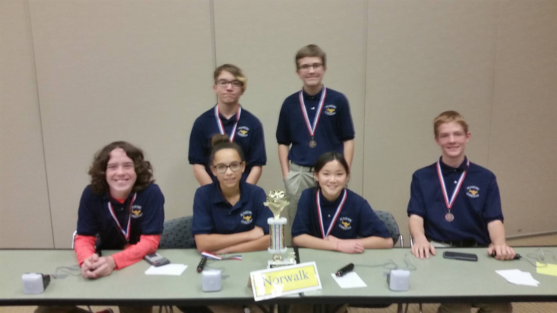 8th grade Academic Challenge Team