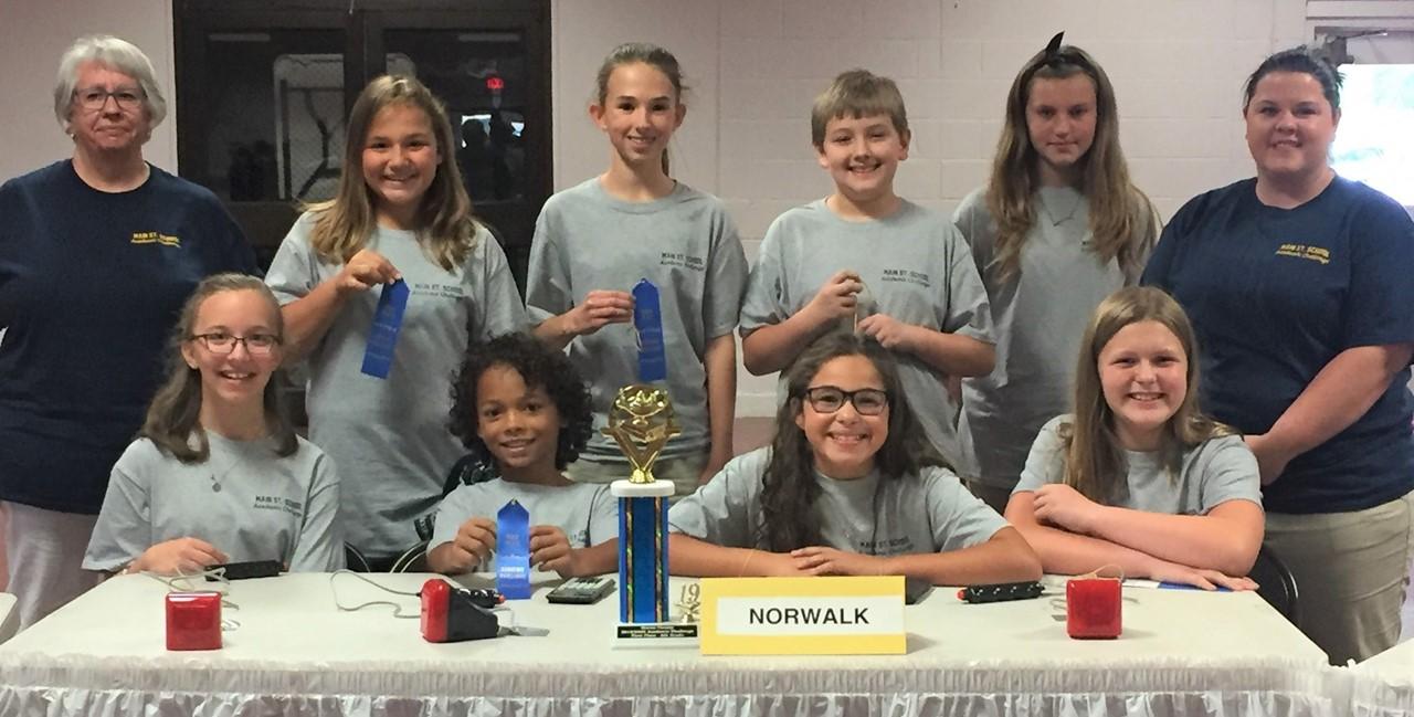 6th grade Academic Challenge Team - won the Huron County meet