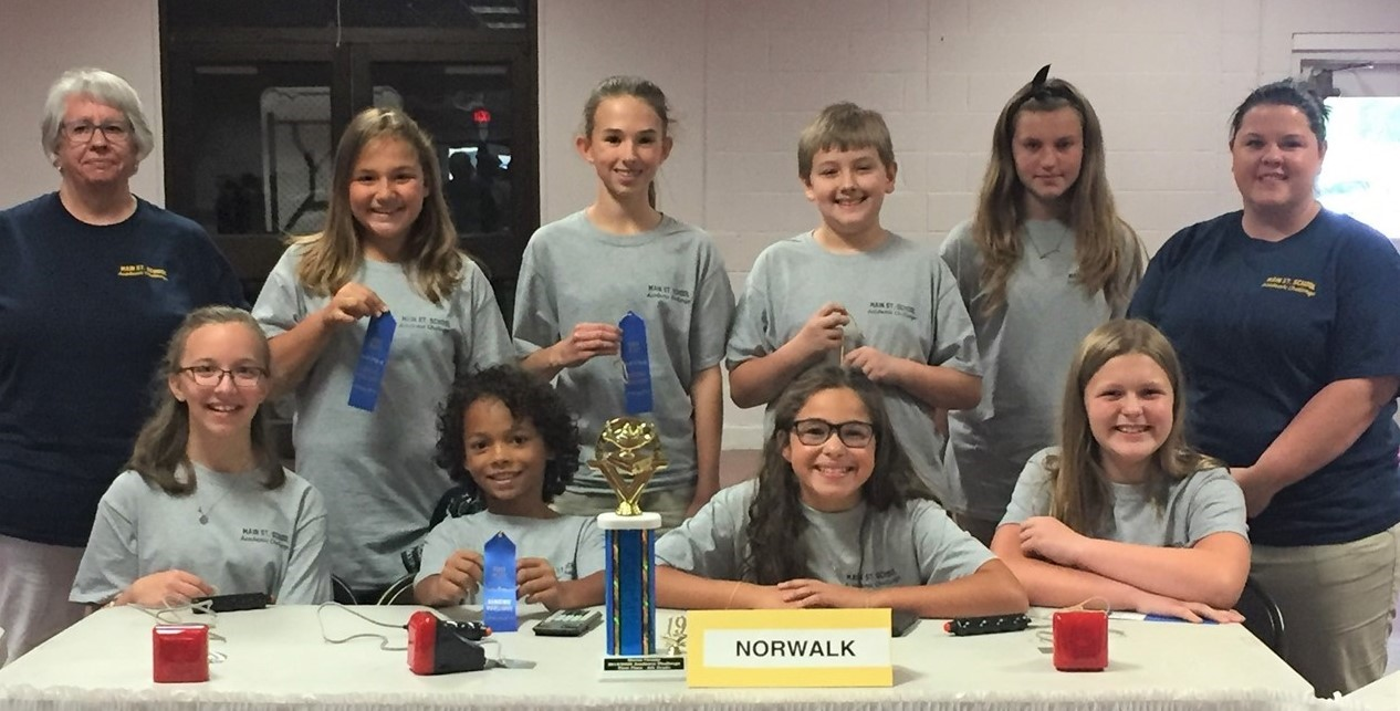 6th grade Academic Challenge team - 1st place in the Huron County match