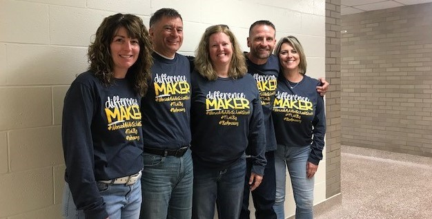 Difference Makers - NMS Staff Members