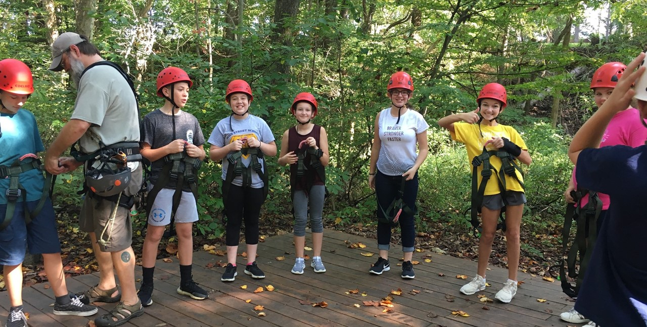 Middle School Student Council Members enjoy a trip to Common Ground