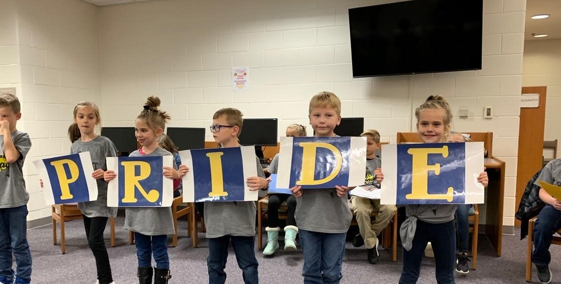 Pleasant students present at the Nov. board meeting