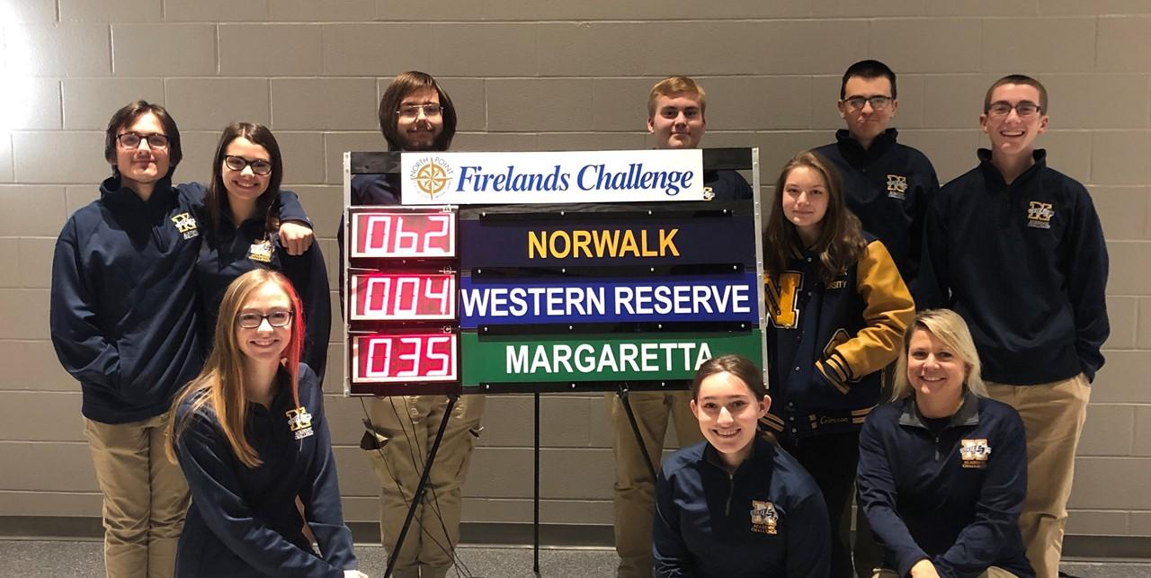 Academic Challenge Team won round 5 today