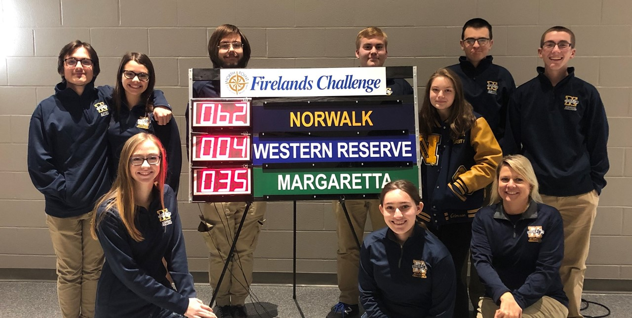 Norwalk High School won round 5 match today