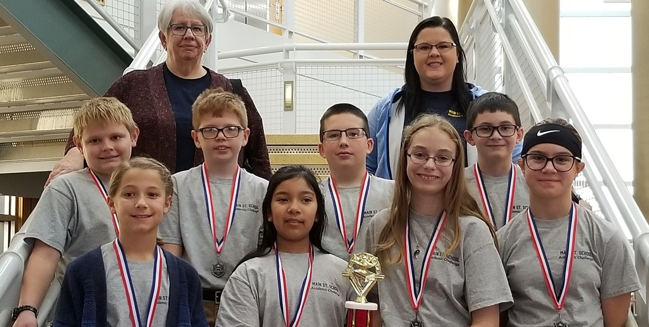5th grade Academic Challenge takes second place in the quad school competition!
