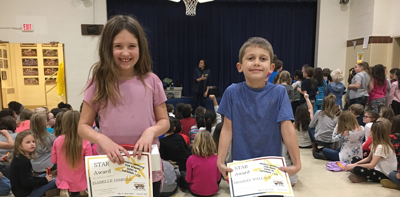 STARS high awards for reading and math