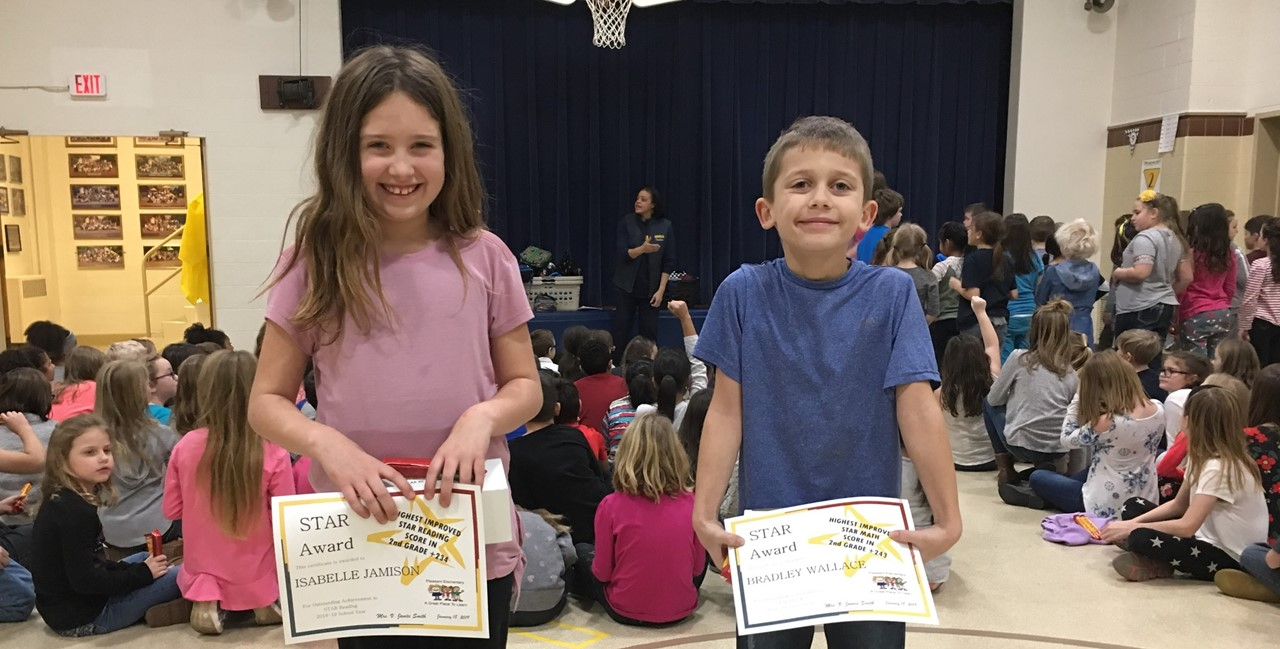 High Award winners for reading and math