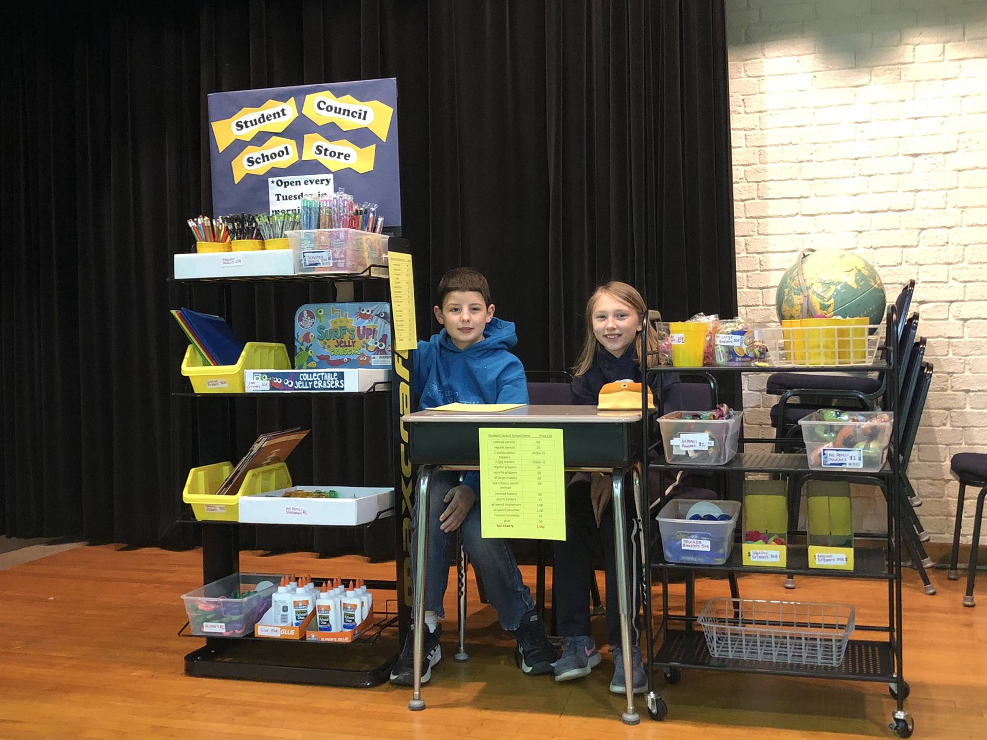 League school supply store