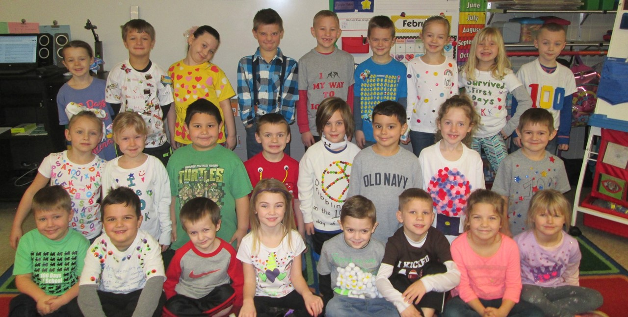 100th day of school - Mrs. Steinwart's class