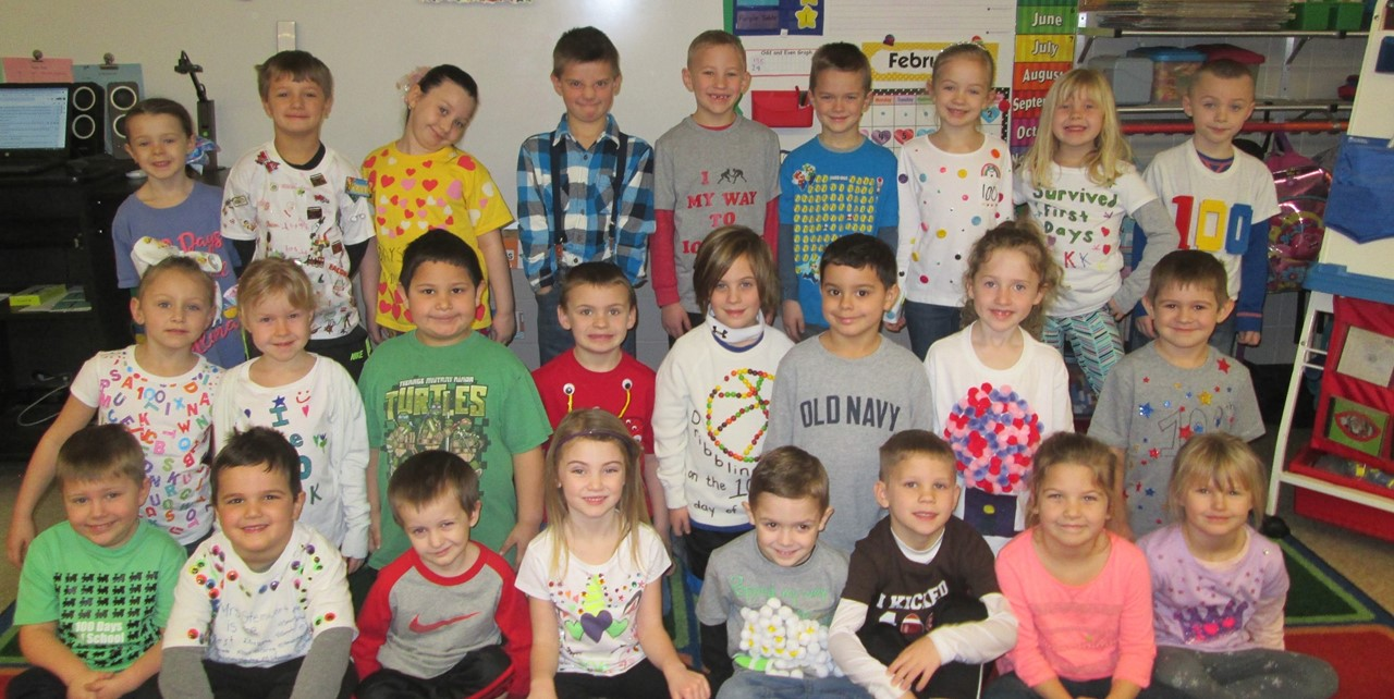 100th day of school - Mrs. Steinwart's class