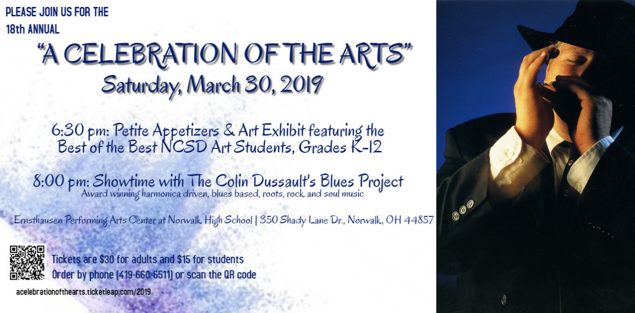 Celebration of the Arts, March 30