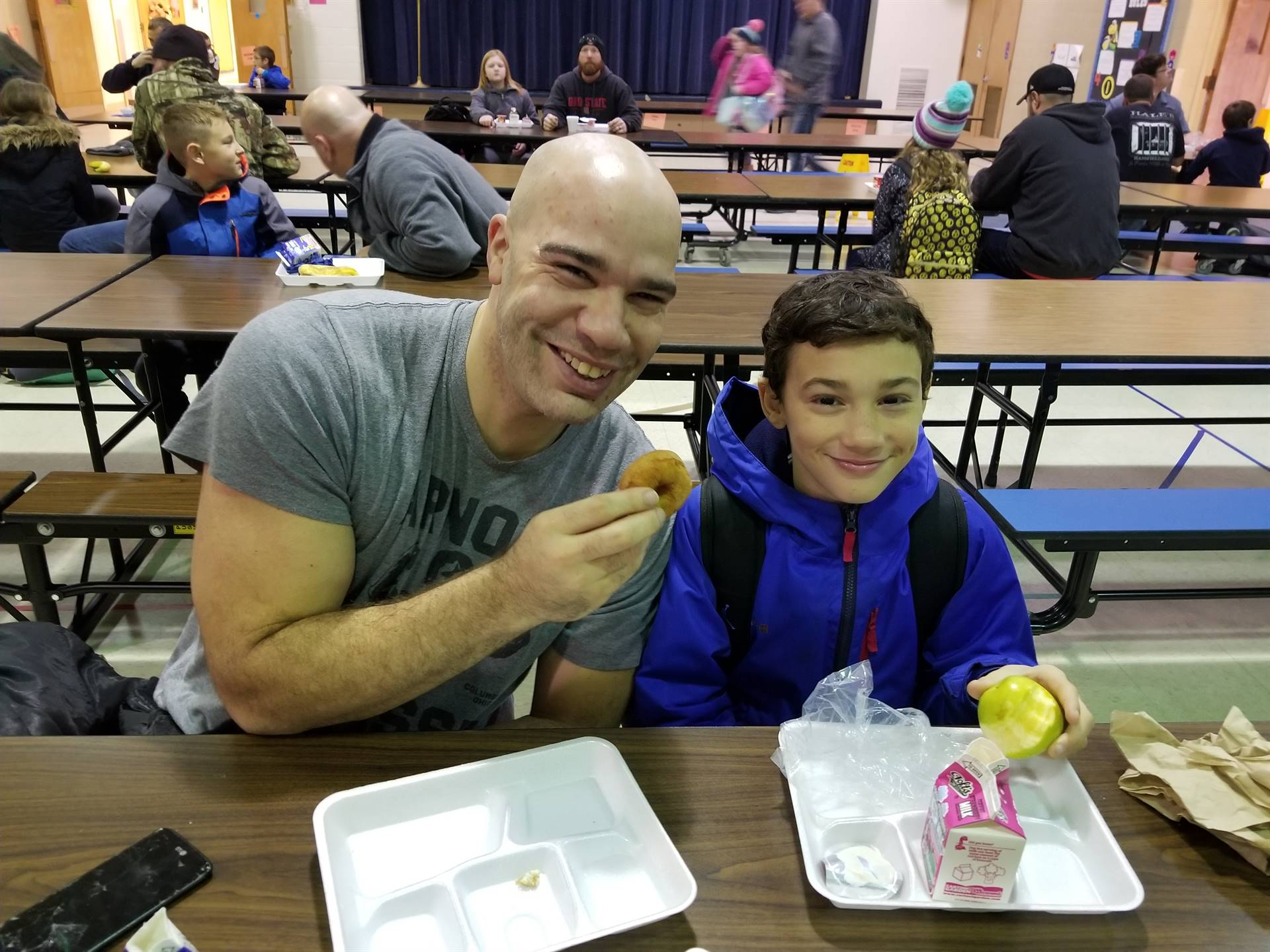 Donuts with Dads & Special Friends