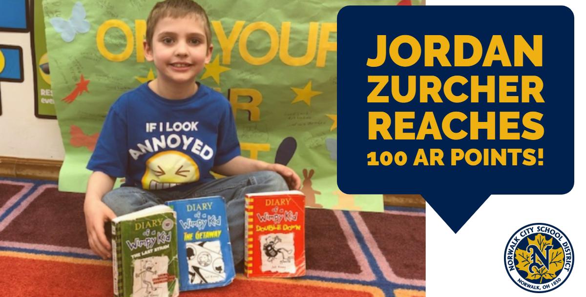 Jordan Zurcher reaches 100 AR points