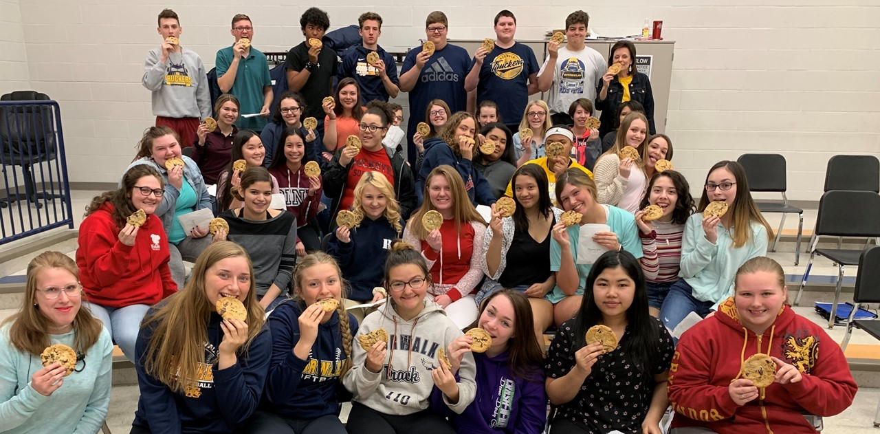 Music Boosters provided cookies for concert