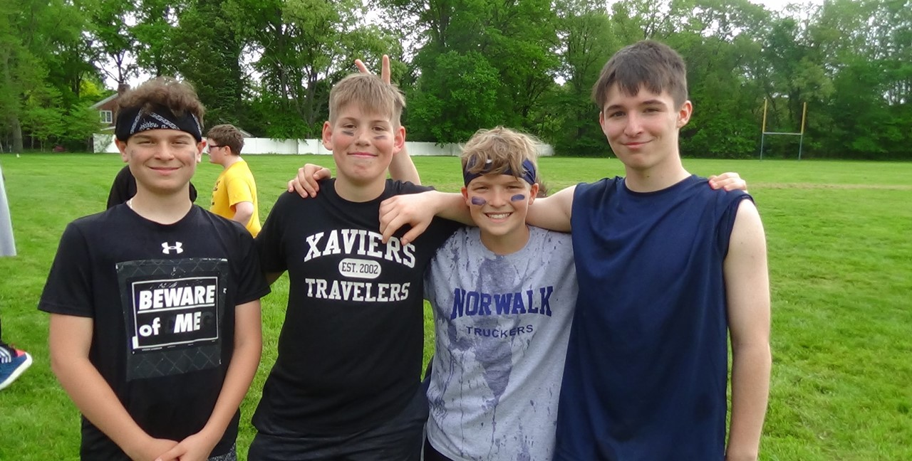 MS Students enjoy Field Day