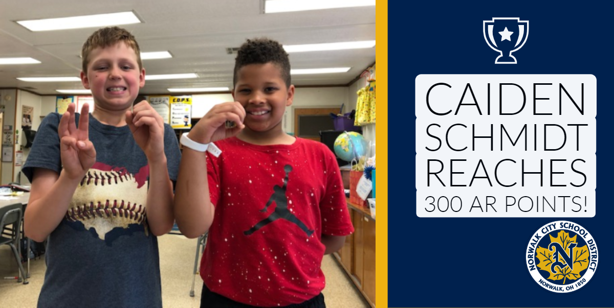 Caiden reaches 300 points