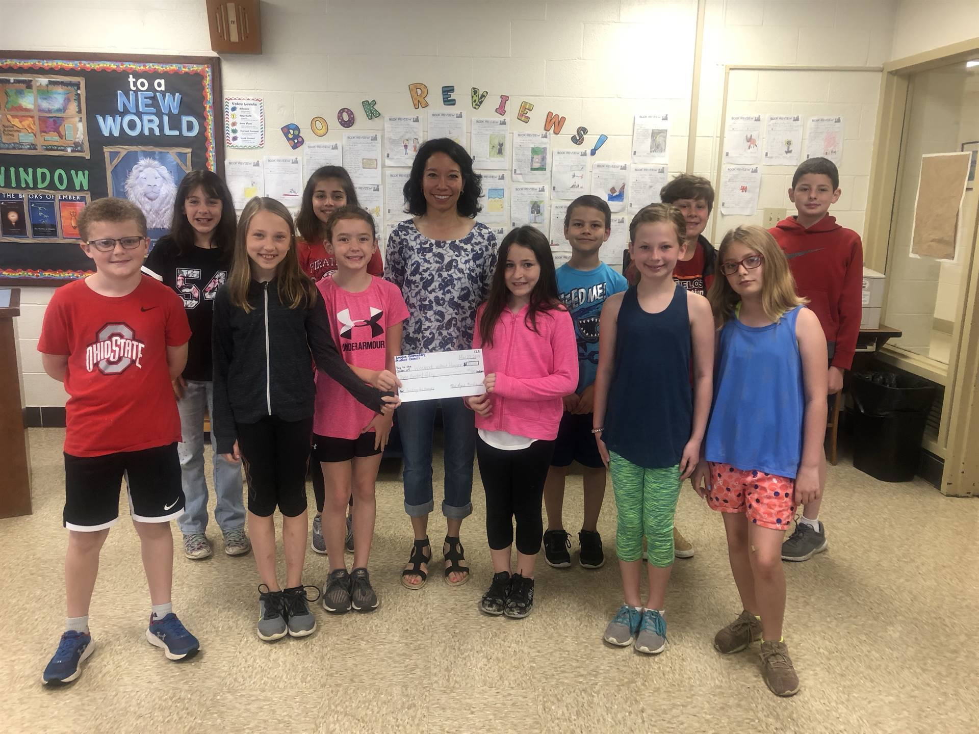 Students raised money for Weekends without Hunger