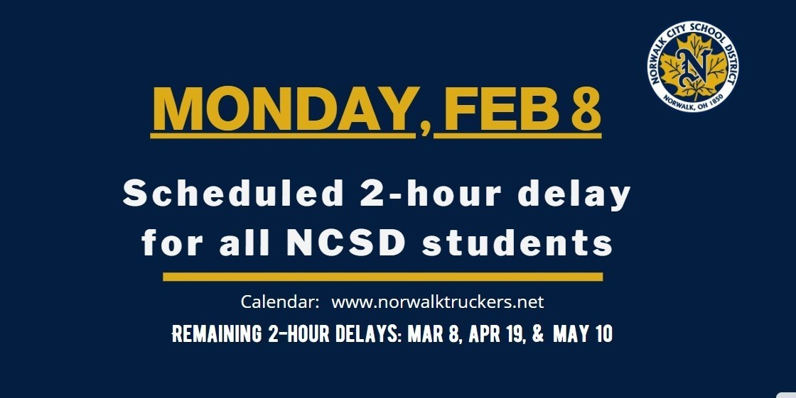 2 HOUR DELAY FEB 8