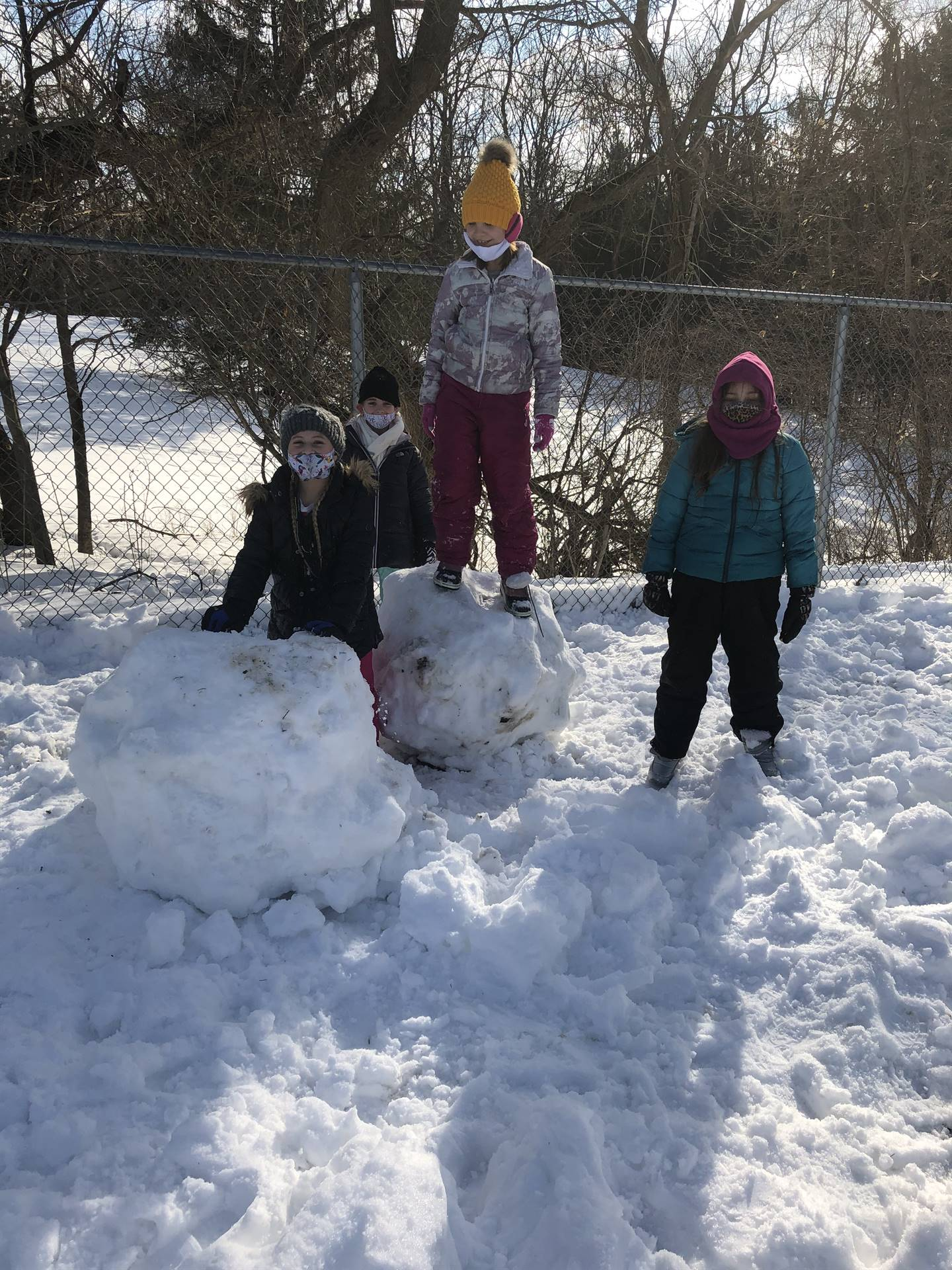 Miss Smith's Class Snow Play