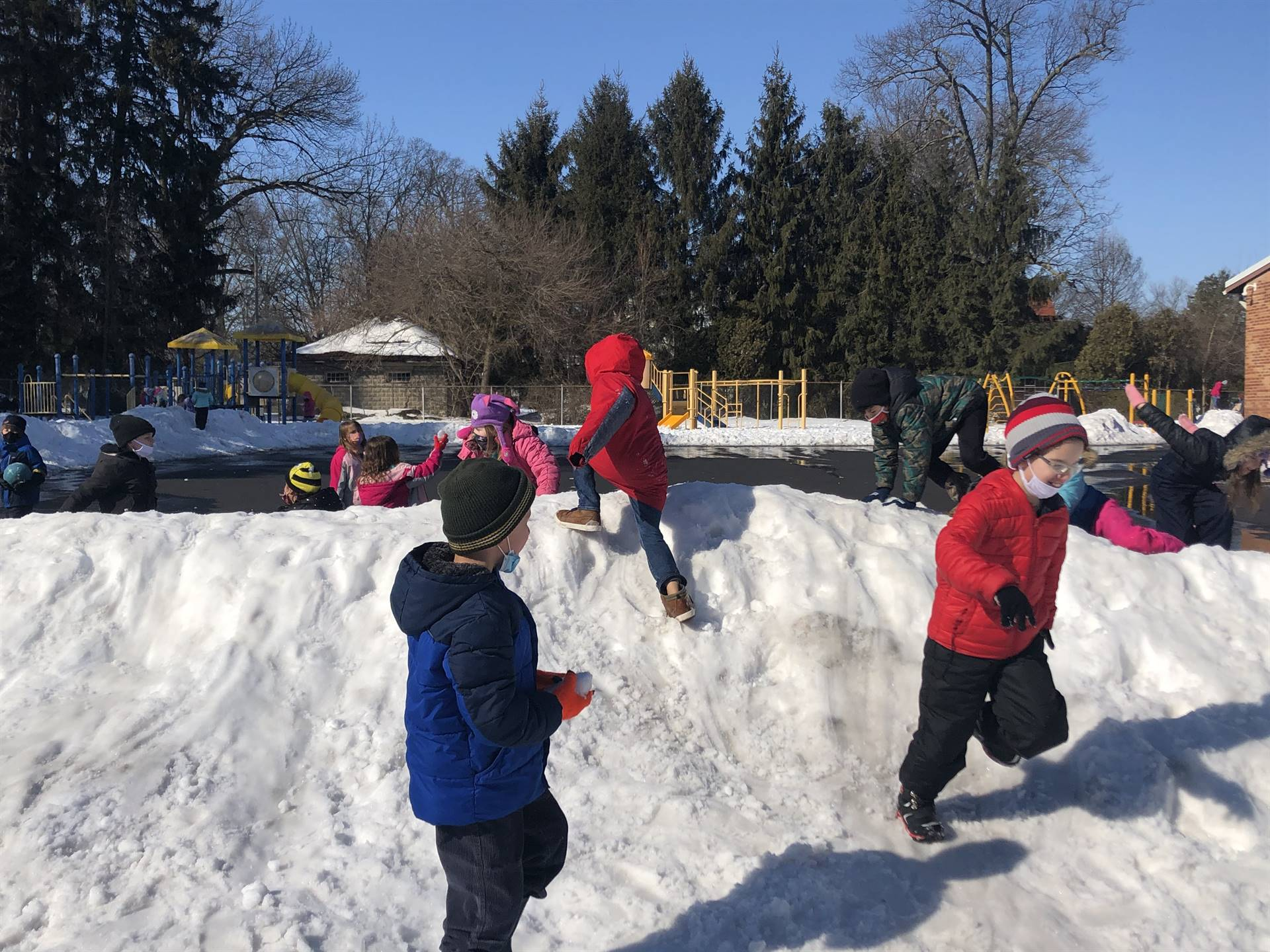 Mrs. Dotson's Snow Play