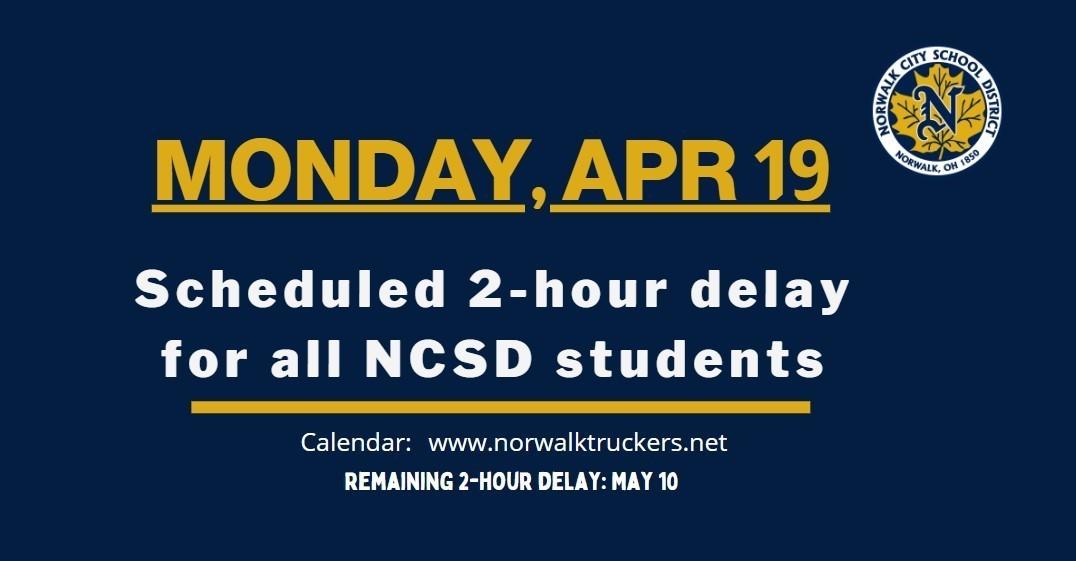 April 2-Hour Delay